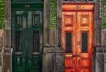 Portes, doors, bab.
