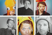 Misha Collins / by Emily Terry