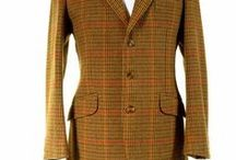 Tweed Hacking Jackets / Mens tweed hacking jackets.