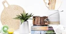 Wedding Registry Essentials / No muss, no fuss: we've collected everything you need to kickstart your registry, from the classics that belong in every kitchen, fun, unexpected gifts that will fit into any modern couple's new life together, and tips and tricks to help you find exactly what you need.