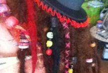 Dread locks :)