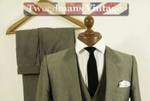 Mens 1980's Fashion / Fashion for men from the 1980's .. suits, clothing and accessories @ Tweedmans Vintage.