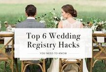Wedding Registry Tips / We know that registering for wedding gifts can be overwhelming at times. Here are our tips to ease your stress. After all, gift-giving and receiving should always be fun!