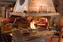 CHALET SUGGESTIONS / A set of IDEAS and ISPIRATIONS for a wood typical house. Maybe for the holiday home.