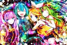 Anime <3 / Anime characters, art, videos, drawings, animations Etc but mostly the art and drawings and animations  Of anime <3