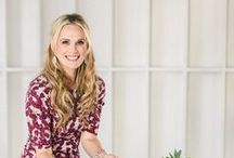 Tastemaker: Molly Sims / Thanksgiving table with Molly Sims || When Molly invited us to a Thanksgiving table, we jumped at the chance for a lesson in southern hospitality. Kentucky-born and runway-bred, she put together a collection for us that is as unfussy and glamorous as she is.
