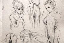 hair / beautiful hairstyls