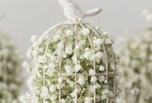 Gypsophila wedding flowers  / Wedding flowers - gypsophila theme