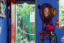 boho inspiration / Gypsy -Hippie -Bohemian -Eclectic -Ethnic -Color -Interior -Outdoor Spaces / by Ingrid P@B