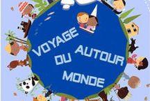 projet: Tour du monde / by Aurélie29bzh