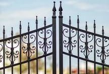 Traditional Railings & Gates / Traditional and classical gates.