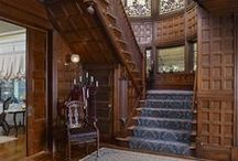 Traditional Staircases / Traditional building staircases.