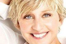 Ellen Degeneres (LOVE HER) / https://www.facebook.com/TheEllenDeGeneresShowItalianFans/