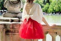 Tulle Rouge / Moda femenina diseñada por Arantxa Cañadas, a medida y personalizada. Venta en https://www.tullerouge.com