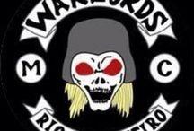 WARLORDS MC / WARLORDS, Moto Clube fundado em 1985  no Rio de Janeiro, Brasil