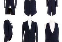 Men's Wedding Suits & Accessories / Buy top quality ex-hire men's formal wear, wedding suits, jackets, morning coats, trousers, waistcoats & accessories.  Grooms suits, best man & groomsmen attire, ushers and father of the bride outfits. All sizes, styles & colours available to buy online at Tweedmans Vintage. Why hire when you can buy for less?