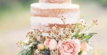 Wedding Cake / Undeniably one of the best parts of wedding planning - choosing a cake! Here are some beautiful and tasty ideas to get you started.