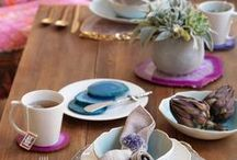 Bohemian Eclectic Newlywed Home / Quirky, colorful, and unique Zola Registry gifts for the Bohemian Eclectic newlywed home.