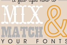 Fonts, Typefaces, Typography