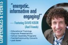 David Kisor - Songwriter/Performer/Trainer / Multi-award winning songwriter, performer and professional trainer-DAVID KISOR is ready to bring GROWING SOUND music to your school or community. David Kisor is available for concerts, school assemblies, conferences, teacher trainings and more. David Kisor/GROWING SOUND offers 12 training topics including our most popular program SONGS OF RESILIENCE:Music For Social and Emotional Development. Contact us to book a training or concert today!