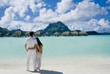 The Islands of Love / There is no better backdrop for a destination wedding than the South Pacific and the crystal clear waters surrounding the islands. Whether you are renewing your vows, making them for the first time, or celebrating your love with an extravagant trip, taking the plunge in paradise is an unforgettable experience.