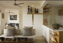 Palm Beach residence / An existing beach front house was extensively renovated with a turnkey design.