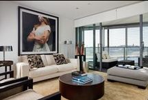 Pyrmont Apartment / Empty nesters desired to entirely change their furnishings when moving from a house to a new apartment