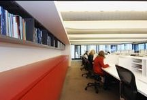 Ross Barr and Associates Office Fitout / A fitout that spanned many years and growth for a Graphic Design Company within the Seidler offices in Milsons Point