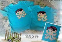 Camisetas / Camisetas customizadas con aplicaciones