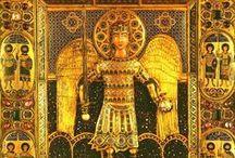 Byzantine  jewelry, cloisonne
