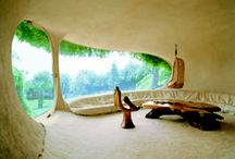 Inspiration & Ideas - Earthships and Cob Houses