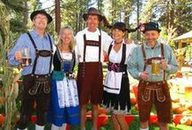 Oktoberfest at Camp Richardson / This annual fall event provides fun and laughs for the whole family. A local's favorite, this festival features great food, music, family games and activities, as well as the famous Beer and Wine Garden. / by Camp Richardson Historic Resort & Marina