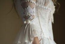 Robe de mariée d'antan