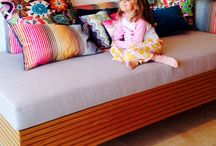 Bronte Residence / A Missoni wrapped day bed