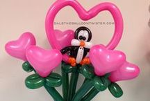 Balloon Art / Balloon Art Ideas for my 11yr old daughter.... GREAT BALLOON ARTIST! / by V WR