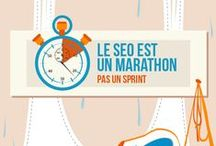 Infographies Social Media en français / #infographie #SEO #socialmedia #reseauxsociaux #infographic #french / by Franckie GILLY