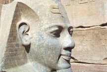 ~ The Pyramids of Giza ~