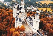 Elegant Castles / The most beautiful display of aristocracy and exclusivity. Meet the Austrian and German heritage in incredible landscapes, and buy the matching interior, furnishing and tableware at https://boulesse.com/en to be the master of your own castle...