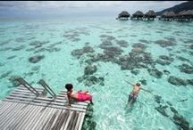 """Enchanting Moorea / Moorea is everyone's dream of a spectacular Polynesian paradise. Often believed to have inspired the mythical """"Bali Hai"""" from James Michener's Tales of the South Pacific, it is a magical island of savage yet captivating beauty."""