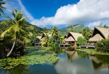 Huahine - The Garden Isle / Often unexplored but always adored by those who visit, Huahine is a culturally preserved paradise with many important archaeological sites and a beauty that rivals Moorea and Bora Bora.