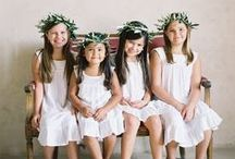 Bridesmaids & Flower Girls / The most inspirationnal bridesmaids & Flower girls to help your imagination run for when your big day comes... Find wedding accessories on Boulesse.com and inspiration in our magazine. https://boulesse.com/en/product/6806/BOULESSE/BOULESSE-Magazin-12016-The-Art-of-Loving-English
