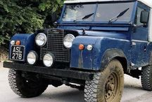 Land Rover Series and Defenders