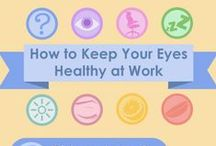 Stay Fit & Healthy at Work!? / All too many of us are stuck behind desks for long hours, or have little time or space to tend our bodies during the work day. This board is dedicated to helpful Articles, Tips and Tricks to keep your body active... while on the job!