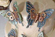 Steam punk / Wonderful creative objects made from old wire, broken clocks and nuts, bolts and lots lots more....