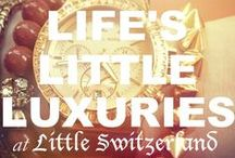 Life's Little Luxuries / We LOVE life's little luxuries! To purchase any of our retail brand names, please call (877) 800-9998!