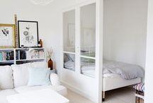 Compact Wonen / Niet zo veel ruimte in je woning? Hier staan allerlei tips over hoe je toch leuk en fijn kunt wonen in een kleine ruimte.