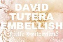 David Tutera Embellish at Little Switzerland / Please call us at (877) 800-9998 Monday - Friday / 9:00AM - 5:00PM EST to order any David Tutera Embellish products!
