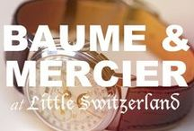 Baume & Mercier at Little Switzerland / Please call us at (877) 800-9998 Monday - Friday / 9:00AM - 5:00PM EST to order any Baume & Mercier products!