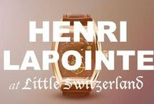 Henri LaPointe at Little Switzerland / Please call us at (877) 800-9998 Monday - Friday / 9:00AM - 5:00PM EST to order any Henri LaPointe products!