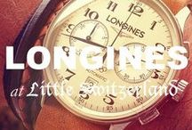 Longines at Little Switzerland / Please call us at (877) 800-9998 Monday - Friday / 9:00AM - 5:00PM EST to order any Longines products!